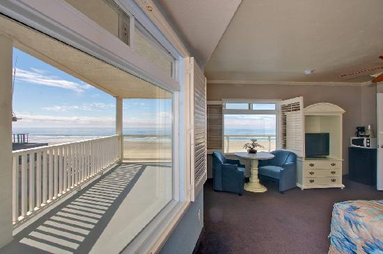 Del Mar Motel on the Beach: Oceanview Room