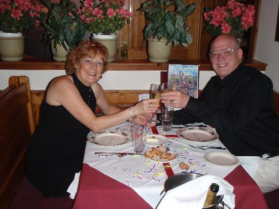 Bistro le Cep: Our 3rd wedding anniversary