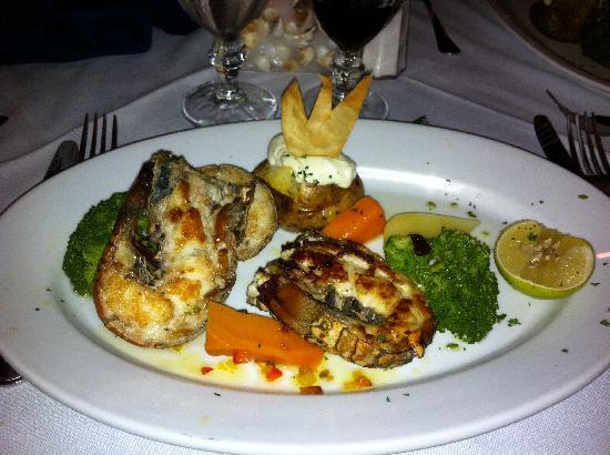 Bavaro Princess All Suites Resort, Spa & Casino: langouste au pescator