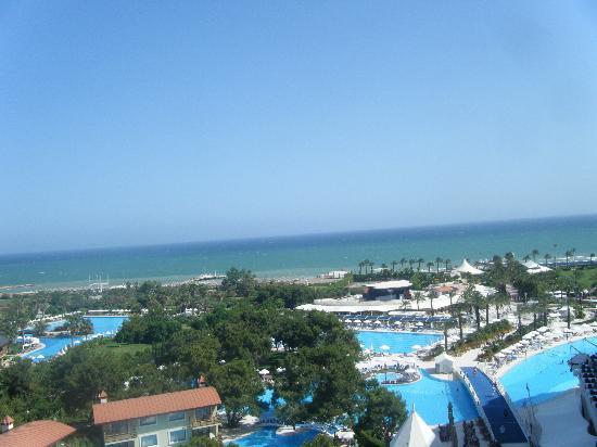 Titanic Beach Lara Hotel: view from room