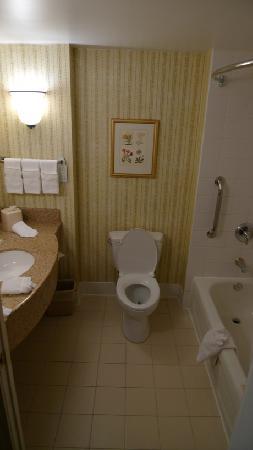 Hilton Garden Inn Washington, DC Downtown: Clean Bathroom