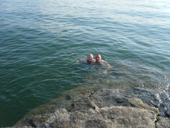 Lake Tenkiller State Park: Swimming In The Clear Water Of The Rocks   Deep  End