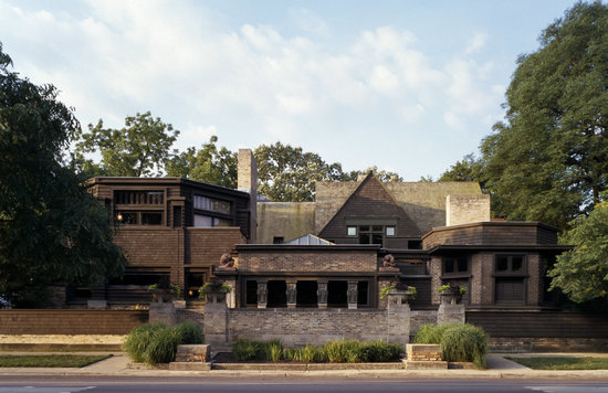 Oak Park, IL : Frank Lloyd Wright Home and Studio