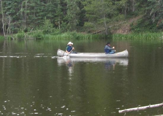 Black Mountain Ranch: Canoe at Jakes