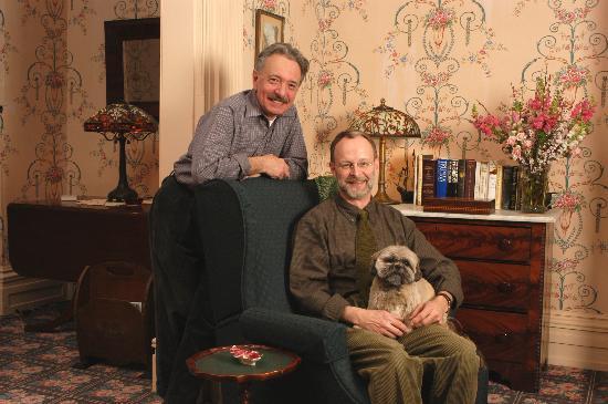 John Morris Manor Bed & Breakfast: Tony & John