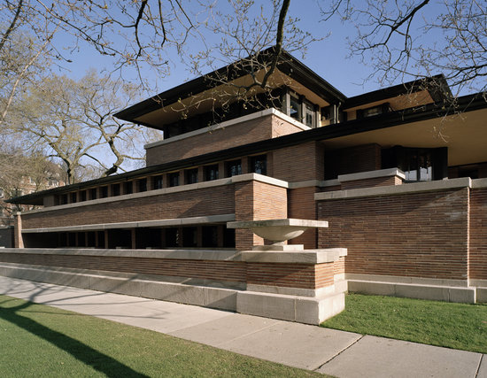‪Frank Lloyd Wright's Robie House‬