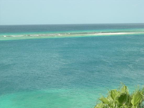 Yemanja Woodfired Grill: Carribean view