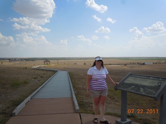 Santa Fe Trail Tracks: great view of surrounding area