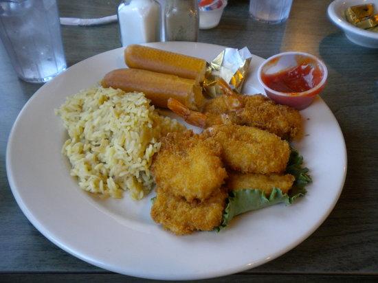 The Pub N Grub : Fried Shrimp dinner
