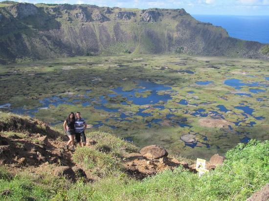 Rano Kau: Cráter