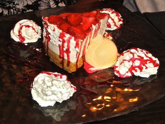 Moochers Jazz Cafe: Cheesecake