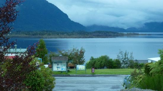 Lake Brunner Resort: view from room