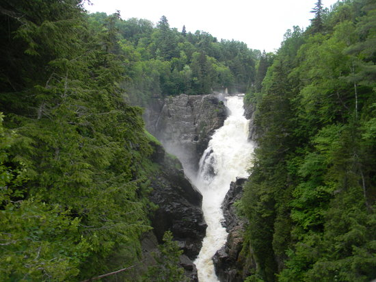 The Falls Picture Of Canyon Sainte Anne Beaupre