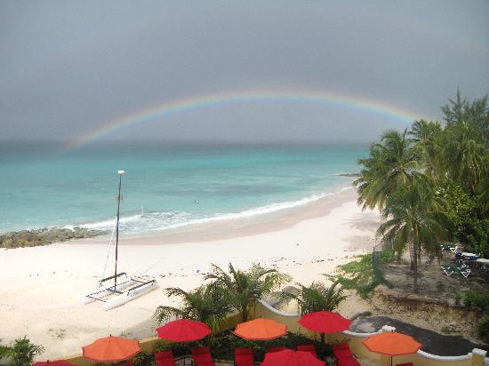 Ocean Two Resort & Residences: Captured a perfect rainbow from my balcony