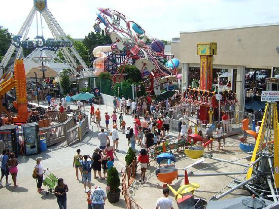 Делавер: Take the kids for a spin at Funland on the Rehoboth Beach Boardwalk
