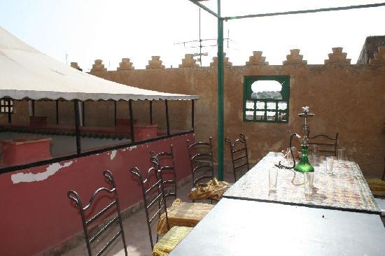 Funky Fes Hostel: terrace