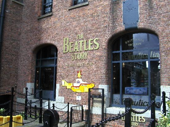 The Beatles Story: Entrance to Beatles Story