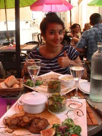 Aubagne, France: J'ai léché mon plat avec mon pain !