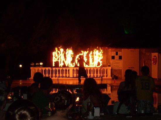 Sogucak, Tyrkia: Fireshow