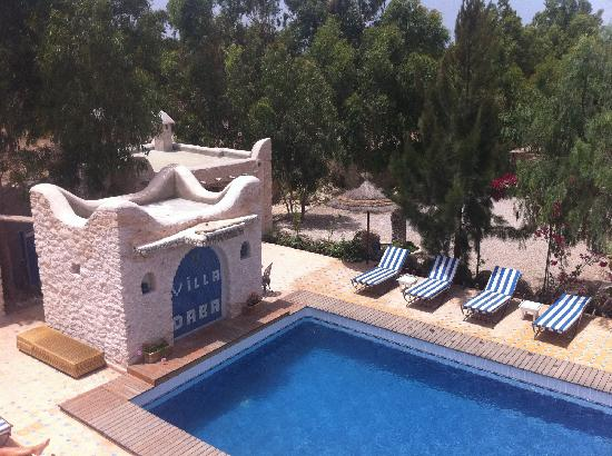 Villa Daba: La piscine