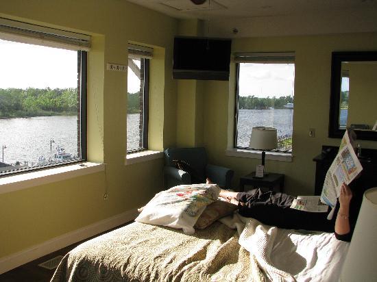 Best Western Plus Coastline Inn: the amazing belltower view!!