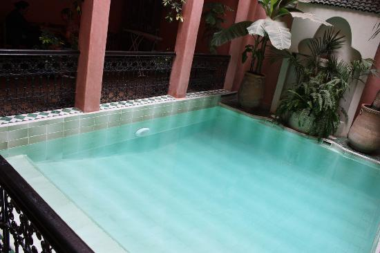 Riad Aderbaz: The Pool