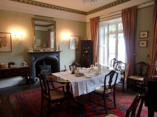 Bracken House: Breakfast laid out in diningroom.