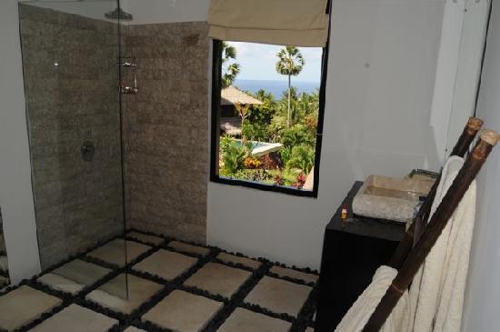 Villa Flow: Bathroom view