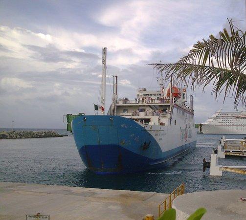 Transbordadores del Caribe. Cozumel. Mexico