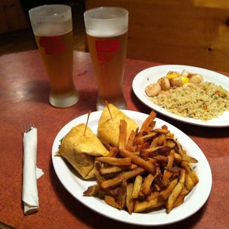 Sand Box Pub and Eatery: Dinner for two!