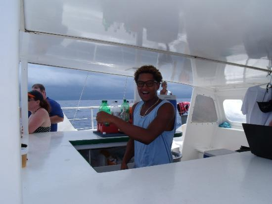 Freestyle Catamaran Tour : The friendly barman kept the rum flowing