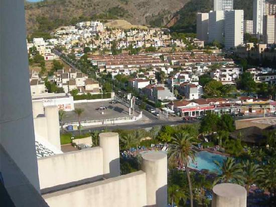 Melia Benidorm: View from our room