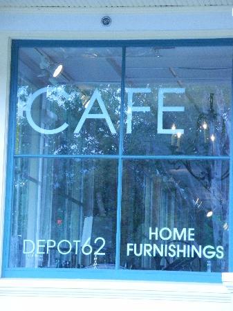 Depot Cafe: Window