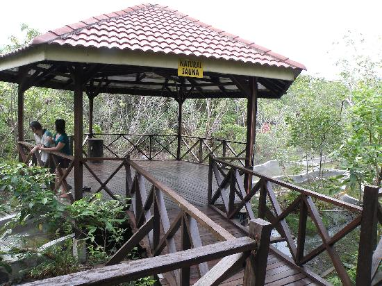 Felda Residence Hot Springs: Natural sauna