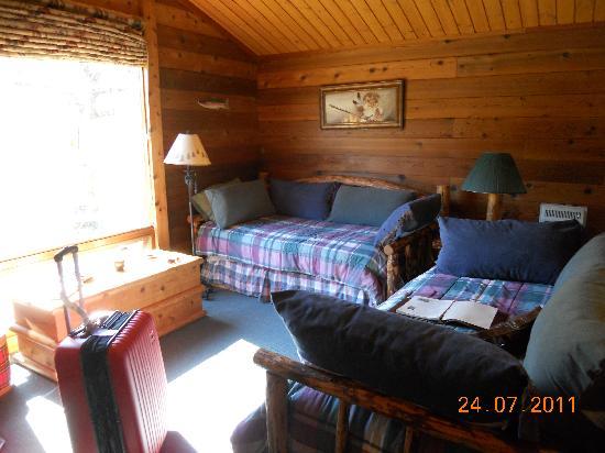 Bonanza Creek Guest Ranch: Comfortable accommodation
