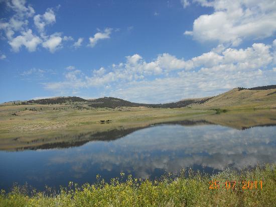 Bonanza Creek Guest Ranch: Great scenery