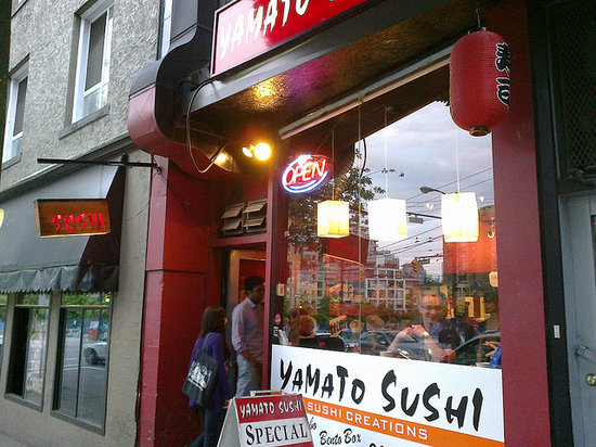 Photo of Japanese Restaurant Yamato Sushi at 616 Davie Street, Vancouver V6B 2G5, Canada