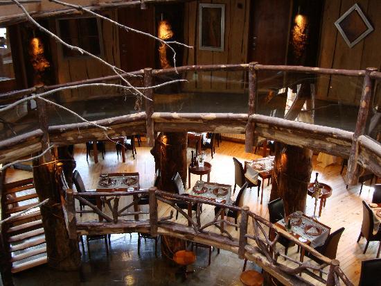 Huilo Huilo Nothofagus Hotel: Interior sorprendente