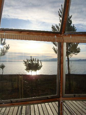 Magma Lodge: Vista desde el domo