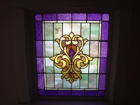 Hudspeth House Bed and Breakfast: Beautiful Stained Glass
