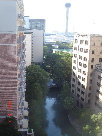 Homewood Suites by Hilton San Antonio - Riverwalk / Downtown: View from roof top (pool area)
