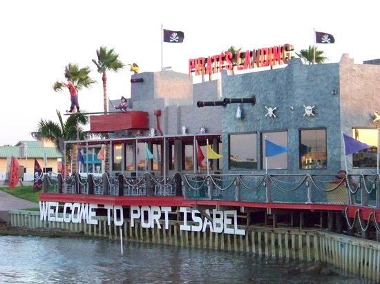 Pirate 39 s landing picture of pirate 39 s landing restaurant for Port isabel fishing