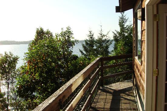 "Sunset Marine Resort: View from the deck of the ""Tree House"""