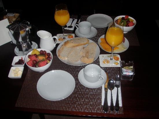 Casa del Horno : Breakfast