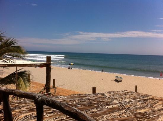 HUA Punta Sal Hotel Restaurante: vista desde el cuarto