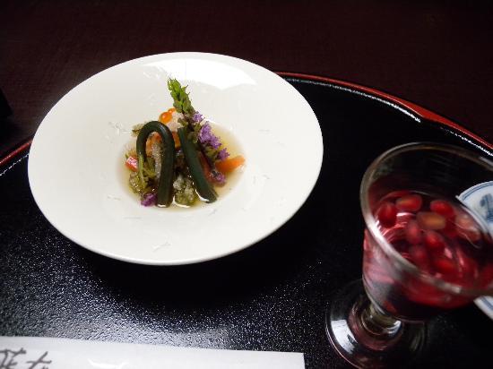 Inn Seiryuso : 食事一例