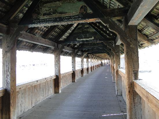 สะพานชาเปล: On the Kapellbruke
