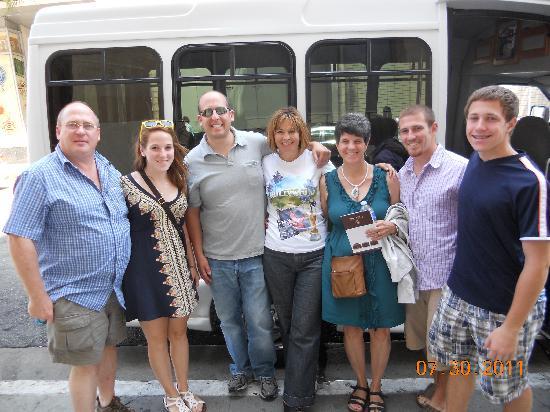 Tourific Escapes: Thanks for a great tour!