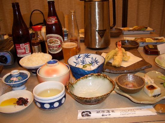 Ushiobara Onsen Matsukawa: 夕食です