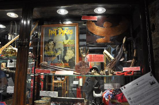 The Museum of Witchcraft and Magic: displays